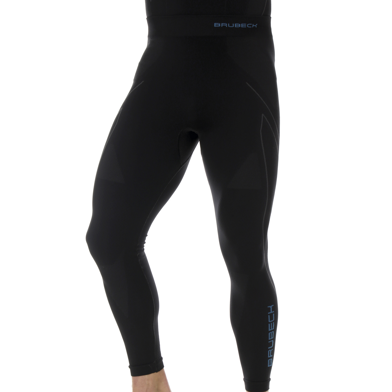 Termounderbukser lange 2 farvede mænd-Ther-Black-Blue-S